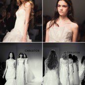 Christos Bridal Spring 2012