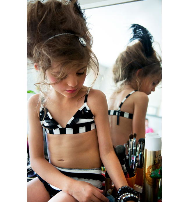 French Lingerie For Little Girls? | ICONOGRAPHY MAGAZINE