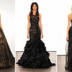 Would you wear a black gown to your wedding? Vera Wang says yes!