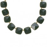 Faceted Peaked Stone Necklace 56.50
