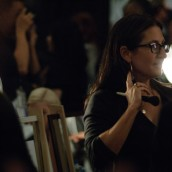 Interview with BOBBI BROWN at the TIBI Spring 2011 Runway Show